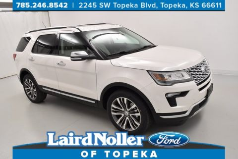 New 2018 Ford Explorer Platinum AWD